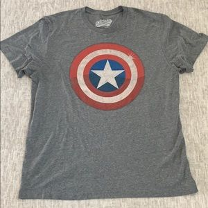 CAPTAIN AMERICA OLD NAVY MEN SHIRT -XL